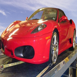 EXOTIC CAR FLATBED TOW
